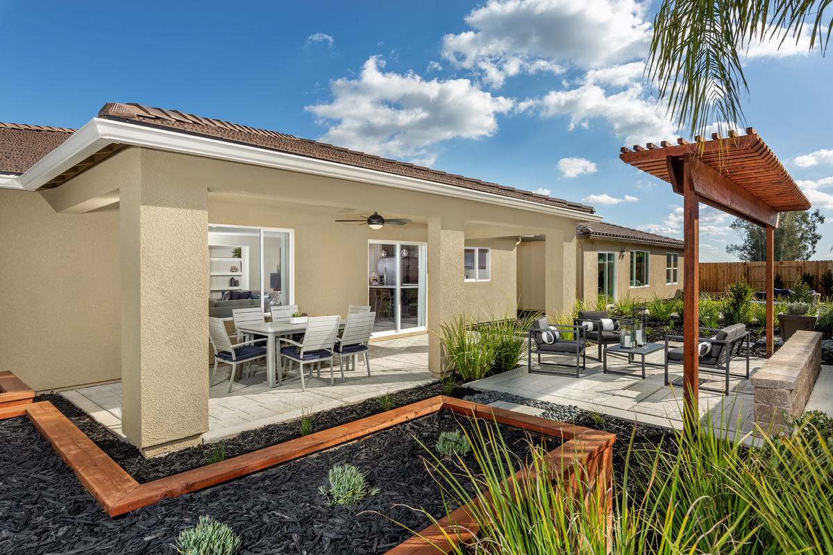 New Homes in Fresno, CA - Laurel Grove Plan 2148 Back Patio