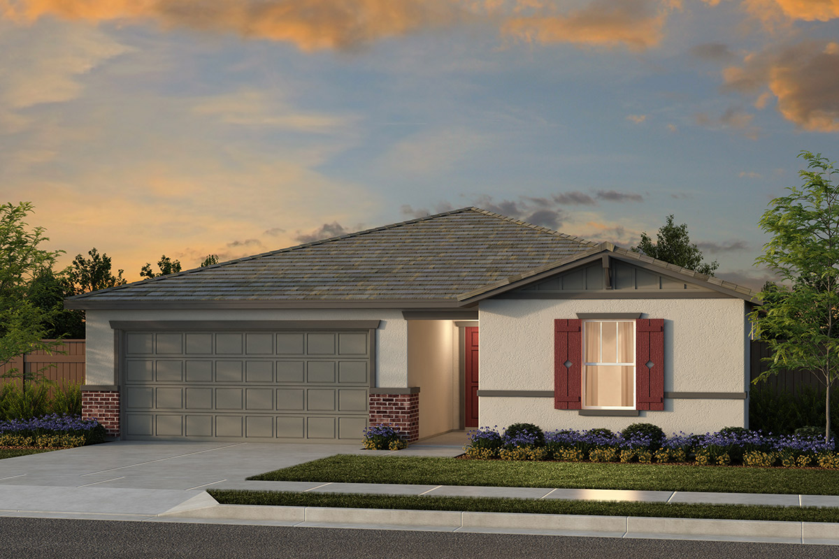 New Homes in Fresno, CA - Plan 1557 Elevation B