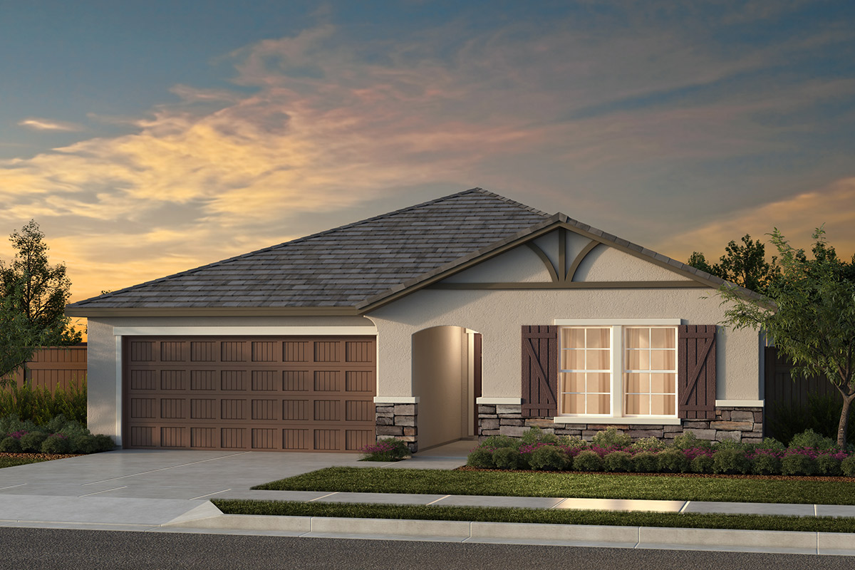 New Homes in Fresno, CA - Plan 1557 Elevation D