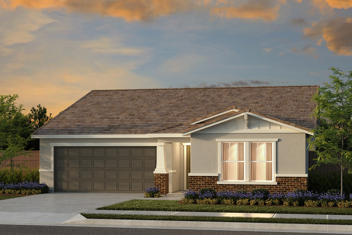 New Homes in Fresno, CA - Plan 1769 Elevation B
