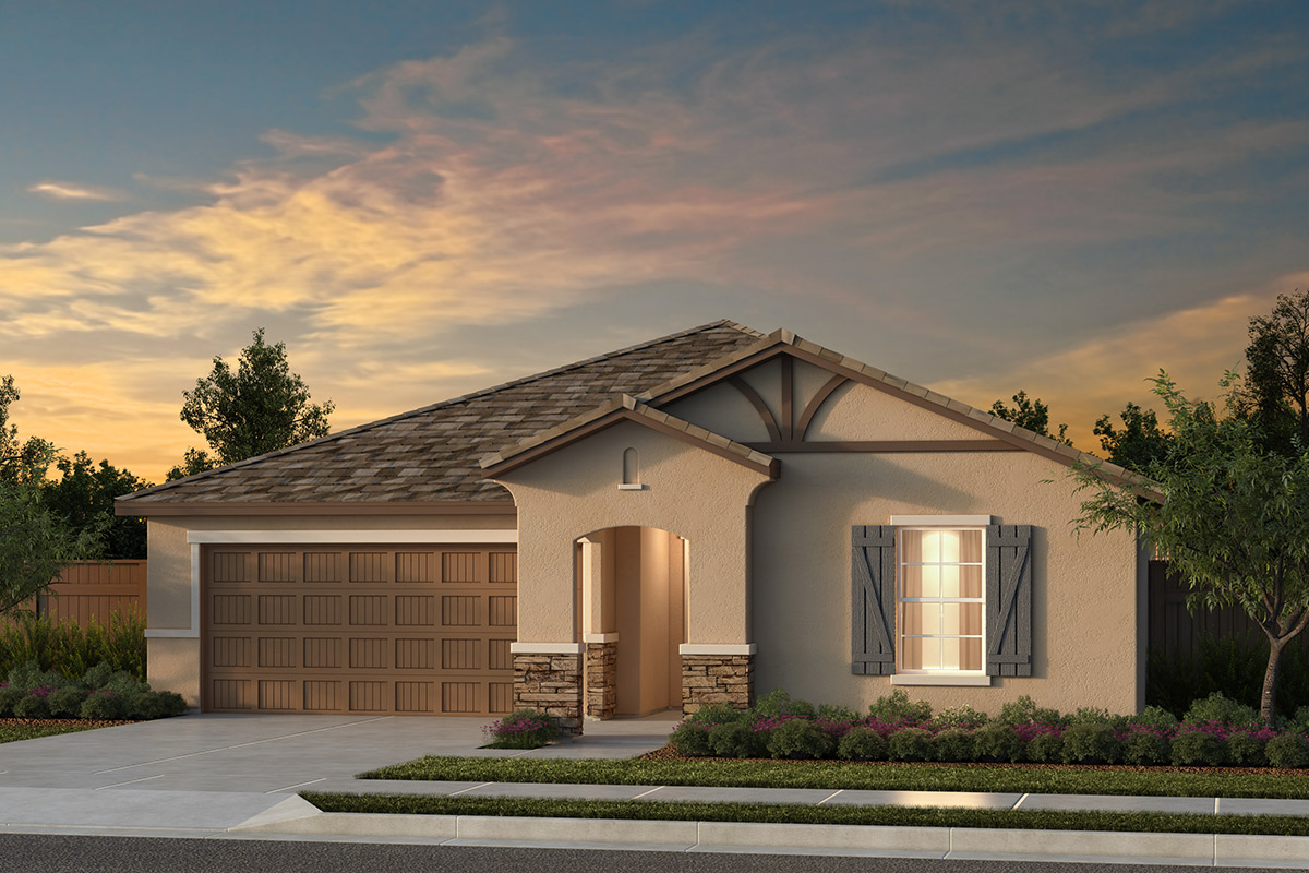 New Homes in Fresno, CA - Plan 1769 Elevation D