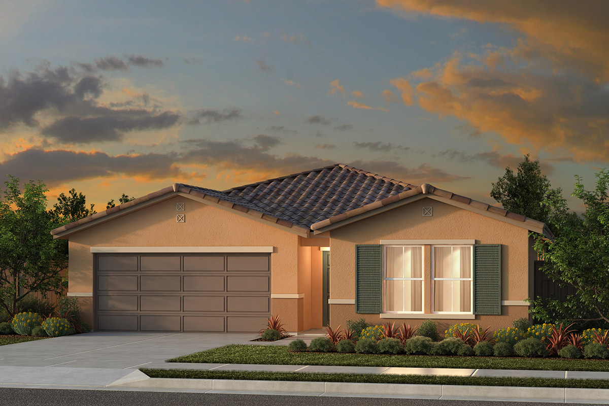New Homes in Fresno, CA - Plan 1769 Elevation E