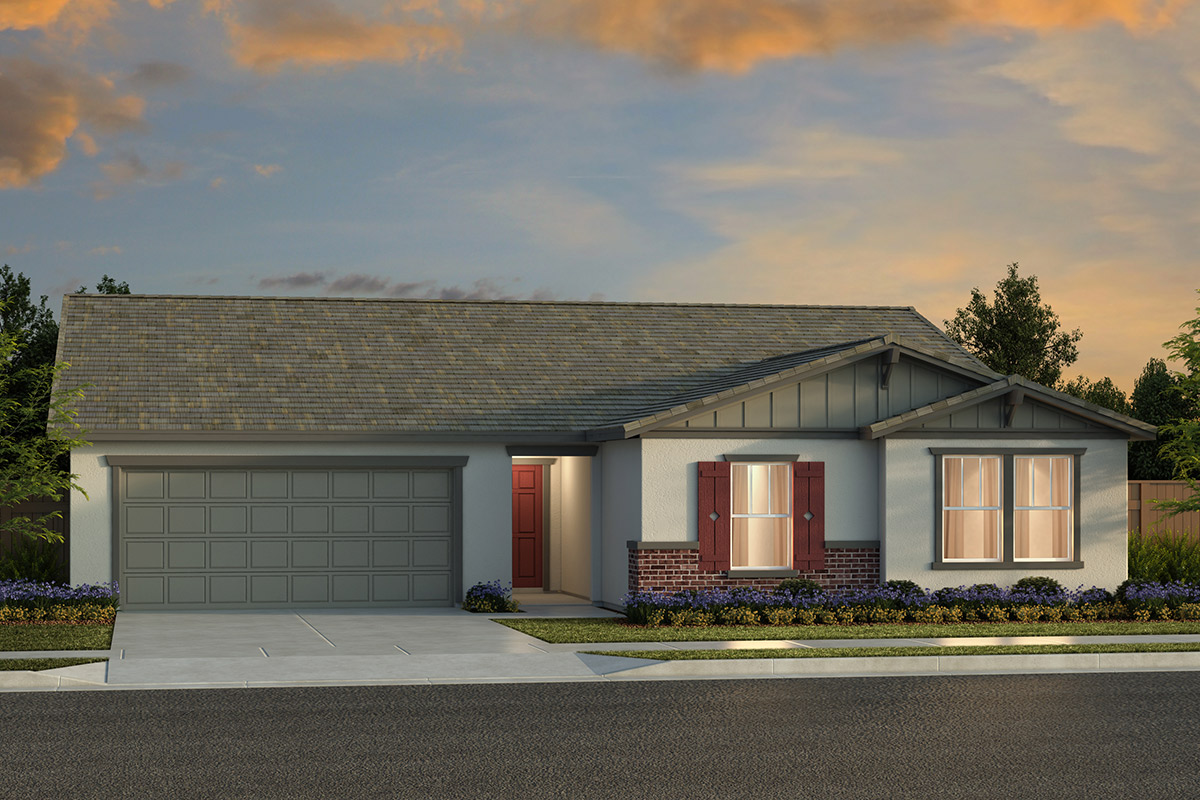 New Homes in Fresno, CA - Plan 2050 Elevation B