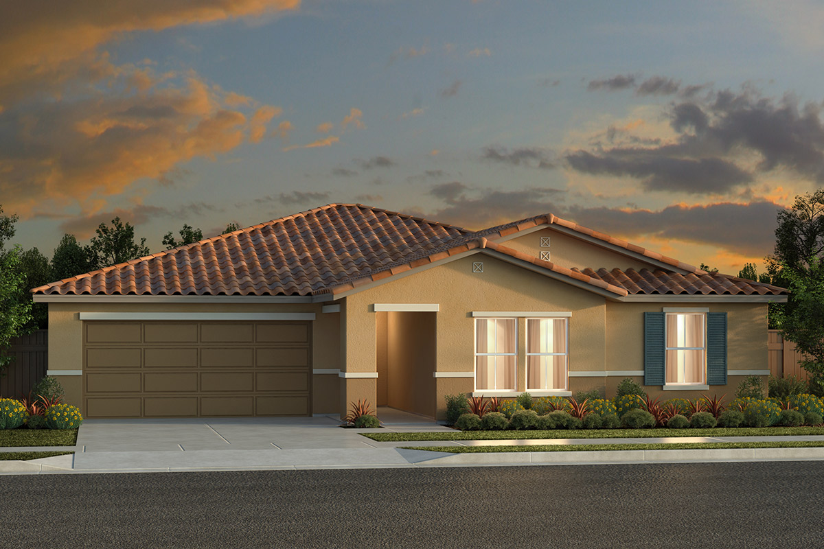 New Homes in Fresno, CA - Plan 2050 Elevation E