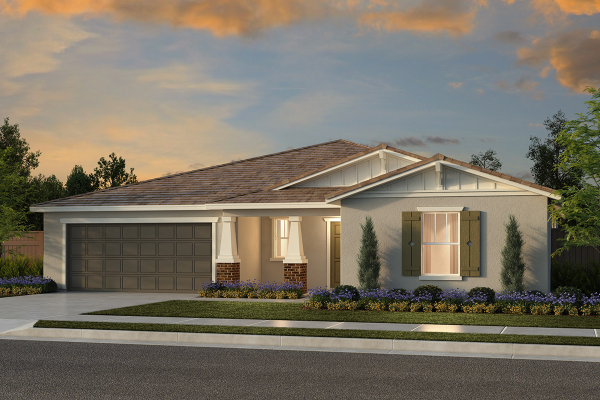 New Homes in Fresno, CA - Plan 2148 Elevation B