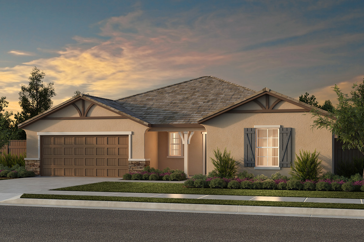 New Homes in Fresno, CA - Plan 2148 Elevation D
