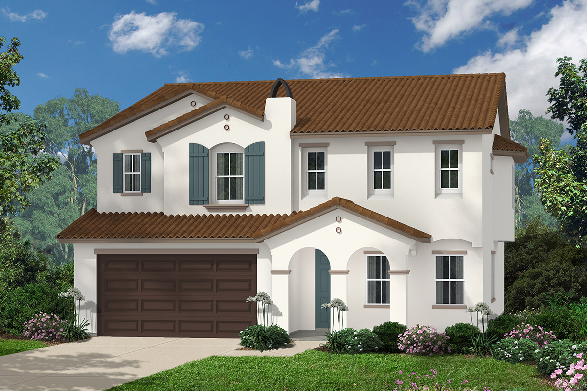 New Homes in Simi Valley, CA - Arroyo Heights at The Woodlands Plan 3481 Elevation A