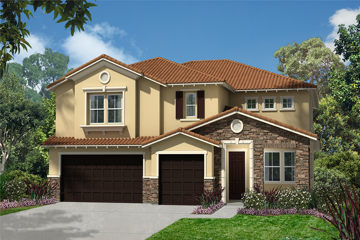 New Homes in Simi Valley, CA - Elevation B