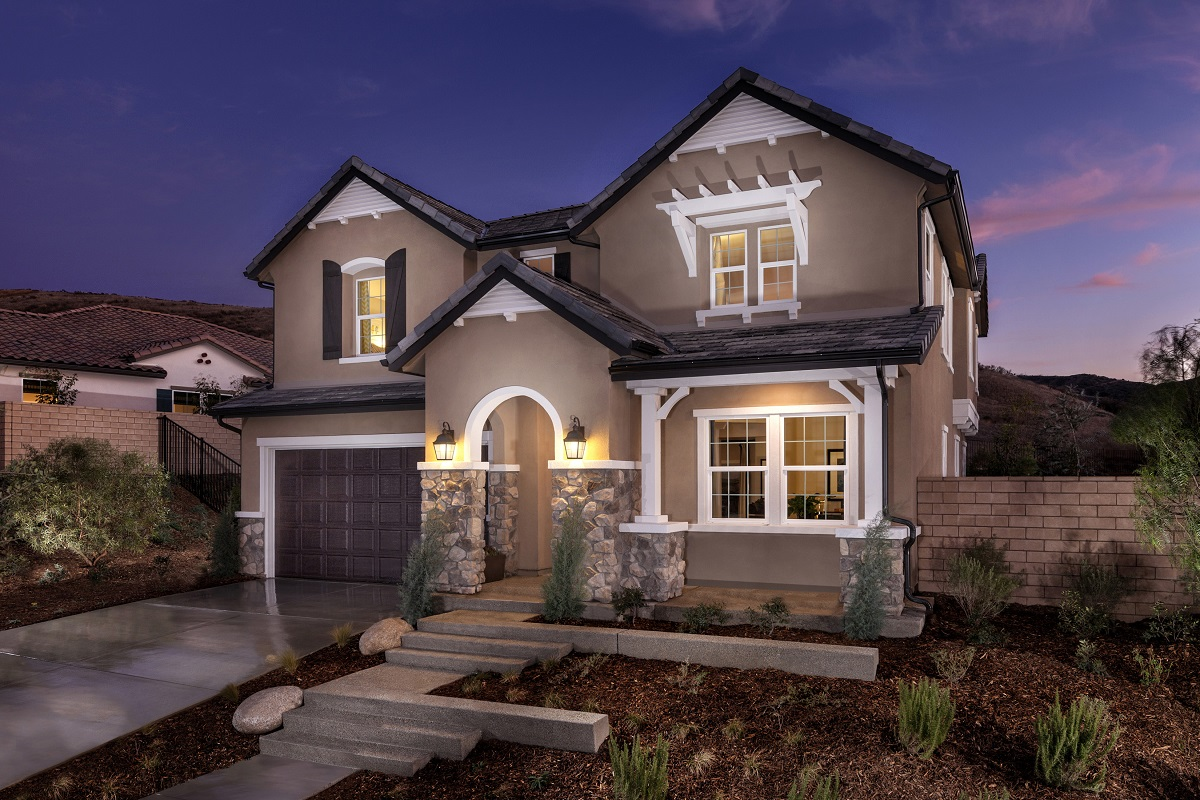 New Homes in Simi Valley, CA - Arroyo Vista at The Woodlands Residence 2852 Exterior