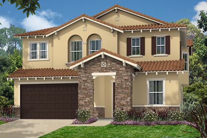 New Homes in Simi Valley, CA - Tuscan 'B'