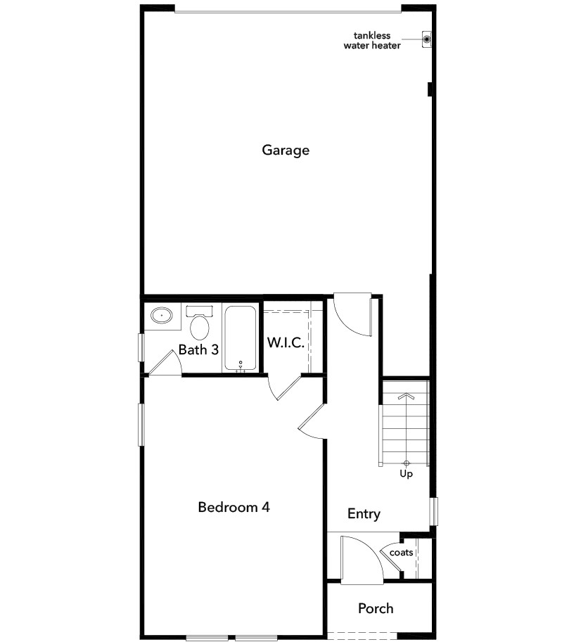 New Homes in Inglewood, CA - Plan 2355, First Floor
