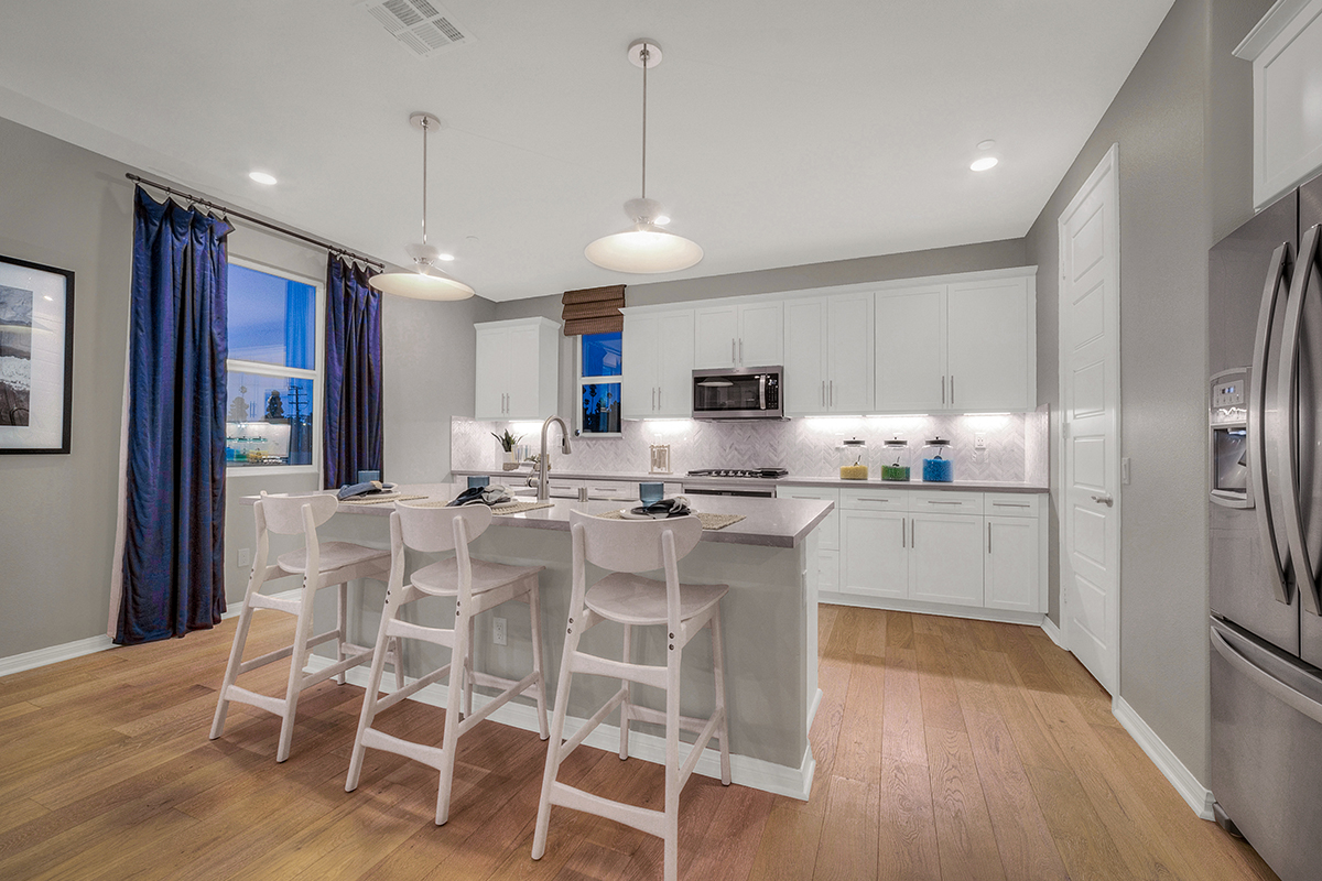New Homes in Inglewood, CA - Axis at Grace Park Plan 2355 Kitchen