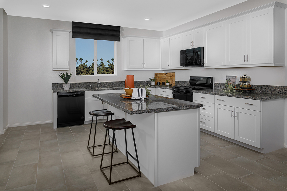 New Homes in Inglewood, CA - Axis at Grace Park Plan 2021 Kitchen
