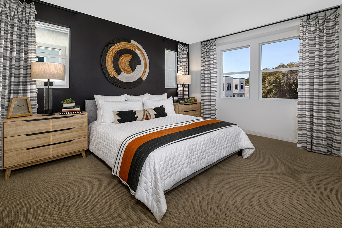 New Homes in Inglewood, CA - Axis at Grace Park Plan 2021 Master Bedroom