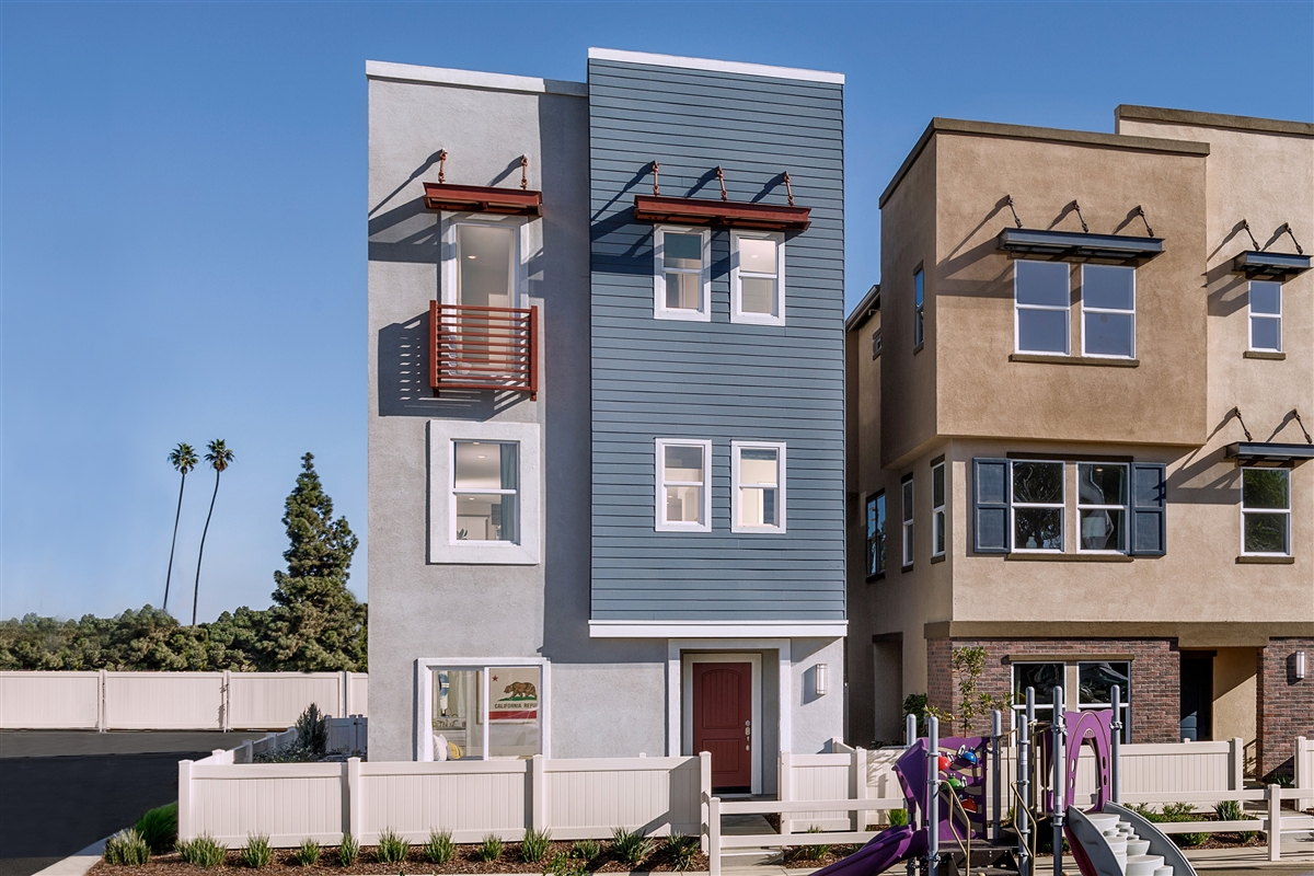 New Homes in Inglewood, CA - Axis at Grace Park Plan 2355