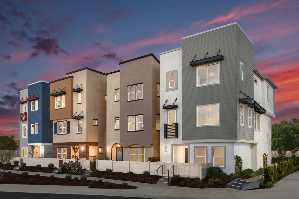 New Homes in Inglewood, CA - Axis at Grace Park Streetscape