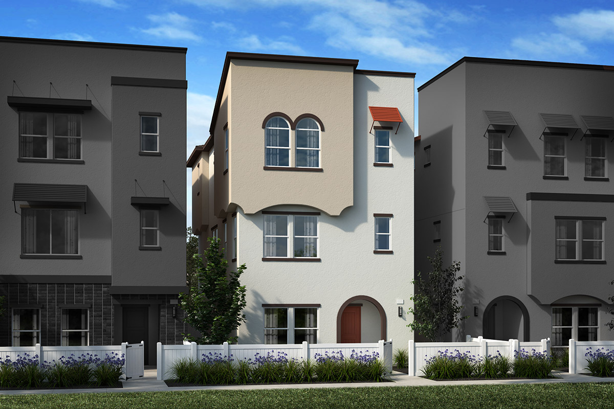 New Homes in Inglewood, CA - Elevation A