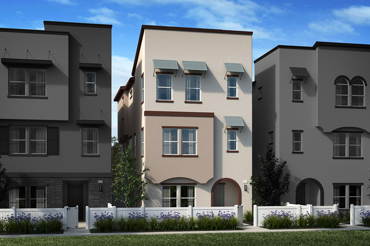 New Homes in Inglewood, CA - Axis at Grace Park Plan 2355 Elevation A