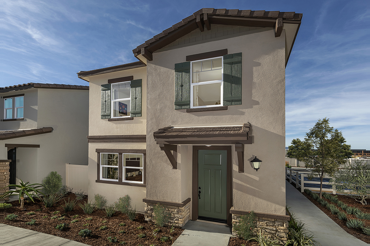 New Homes in Santa Clarita, CA - Bluma at Vista Canyon Plan 1401 Elevation A