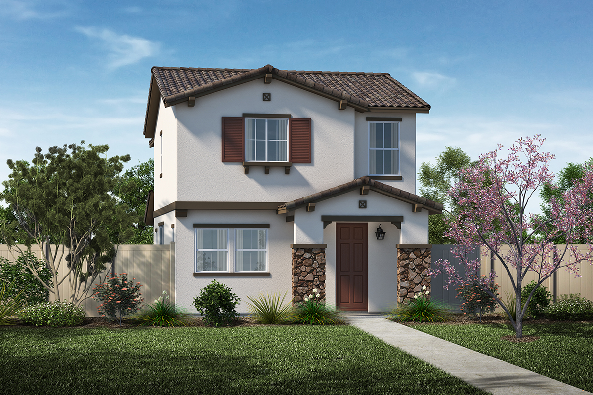New Homes in Santa Clarita, CA - Elevation A