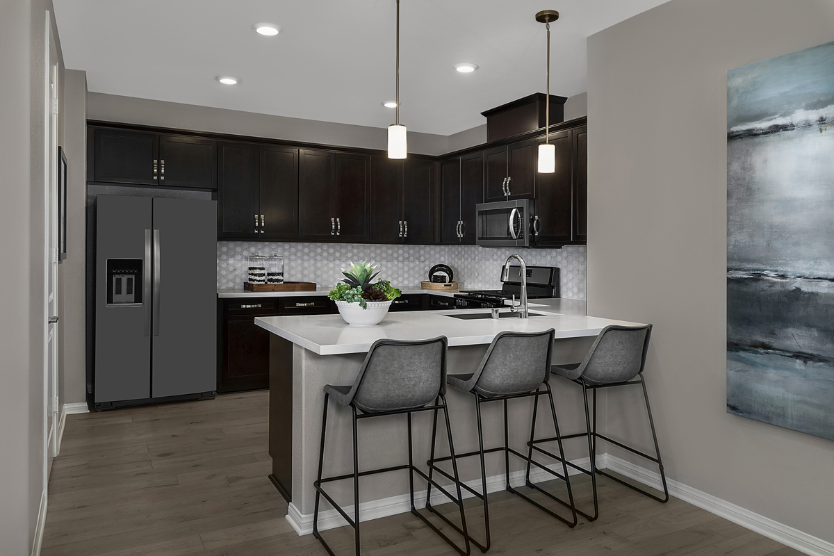 New Homes in Fillmore, CA - Citrus Grove Plan 2138 Kitchen