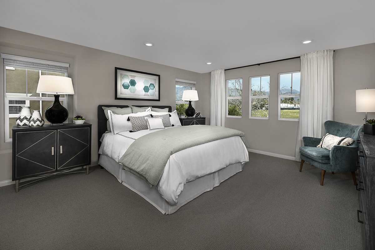 New Homes in Fillmore, CA - Citrus Grove Plan 2138 Master Bedroom