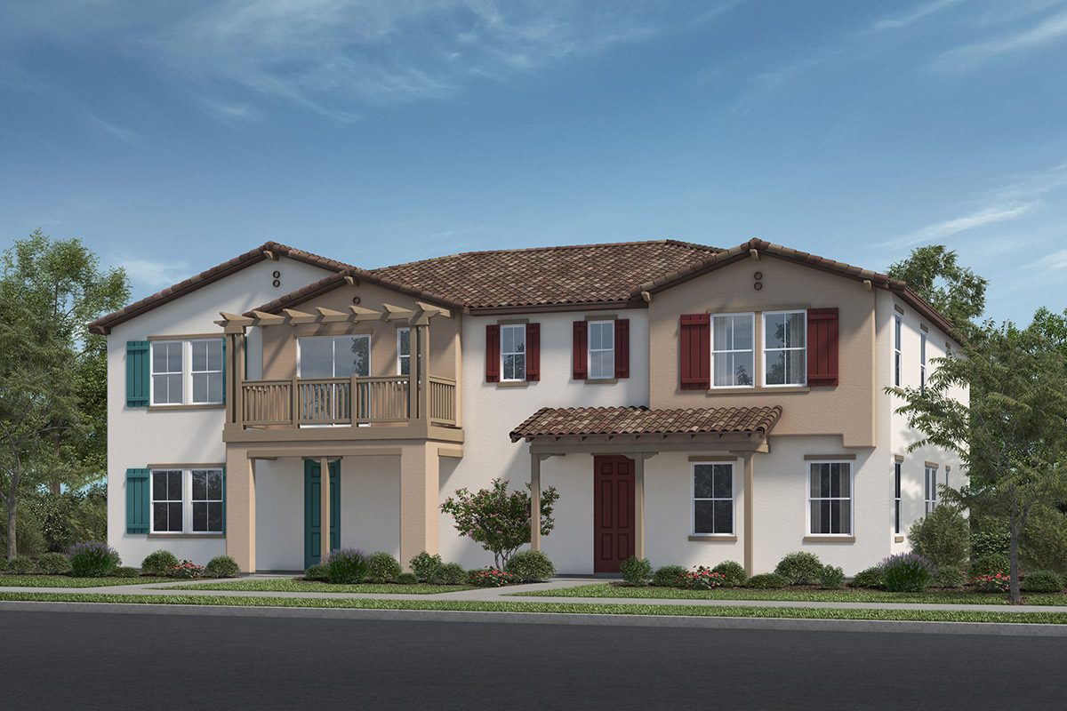 New Homes in Fillmore, CA - Building 1 Elevation A