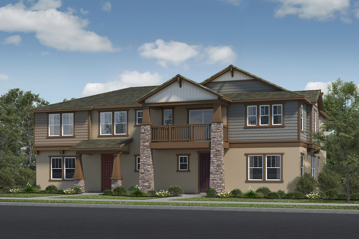 New Homes in Fillmore, CA - Building 1 Elevation B