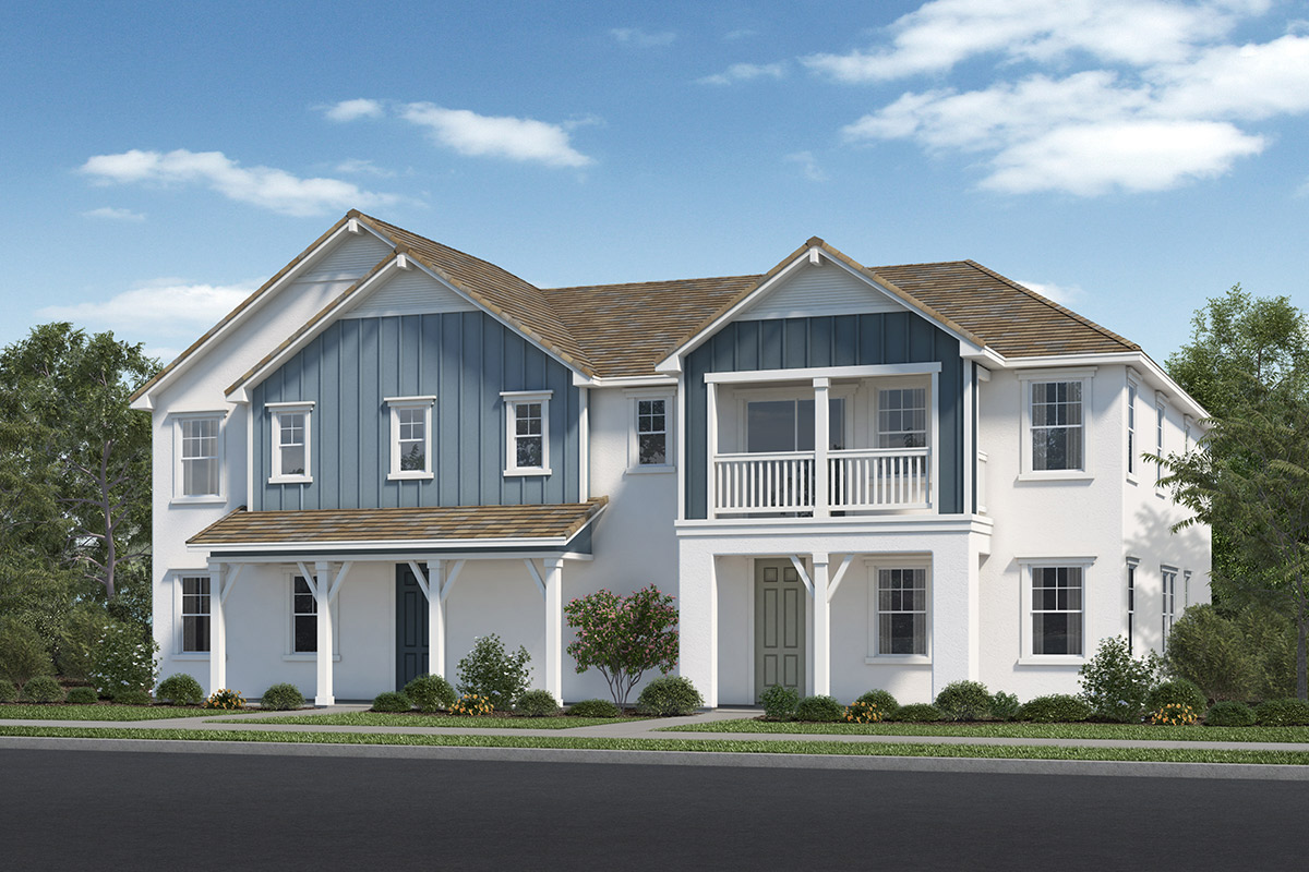 New Homes in Fillmore, CA - Building 1 Elevation C