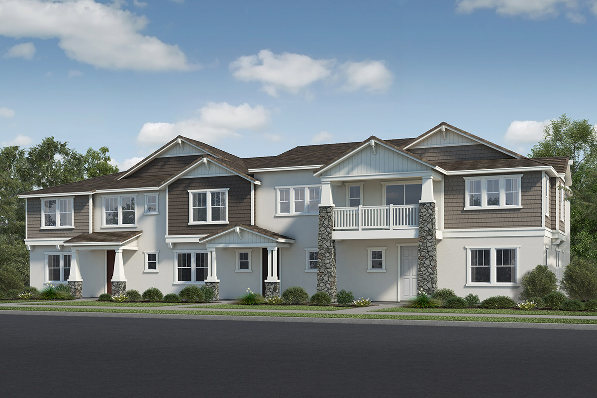 New Homes in Fillmore, CA - Citrus Grove Plan 2138, Building 2 - Elevation B