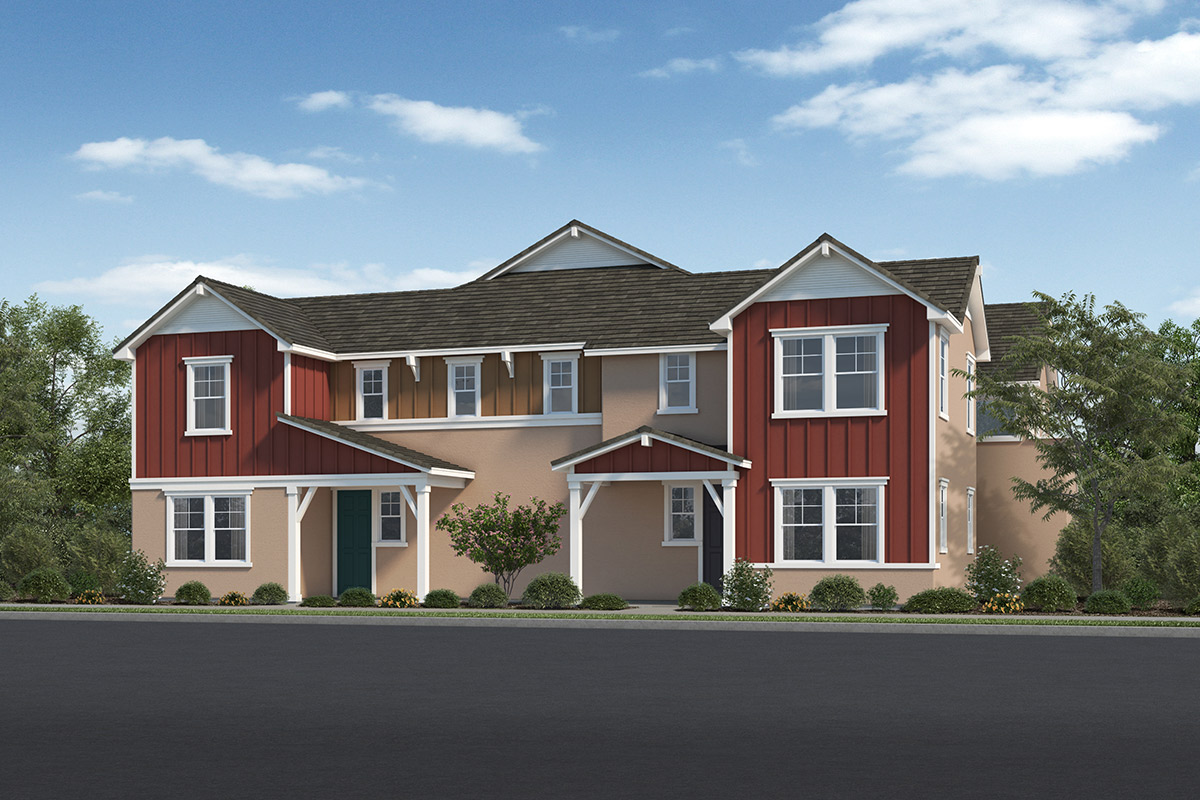 New Homes in Fillmore, CA - Citrus Grove Building 8 Elevation C