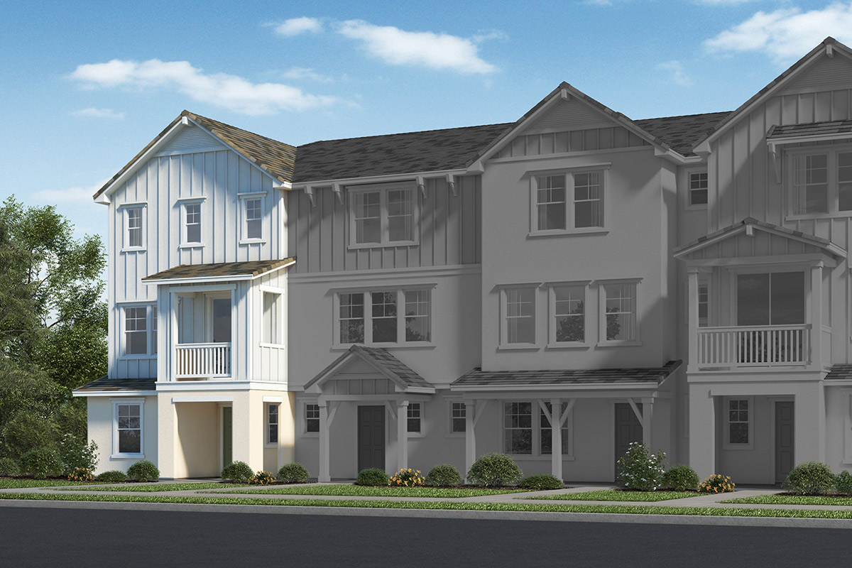 New Homes in Fillmore, CA - Building 6 Elevation C