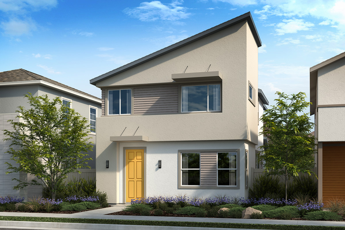 New Homes in Valencia, CA - Elevation C