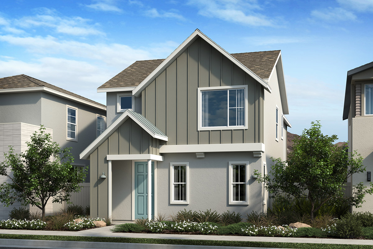 New Homes in Valencia, CA - Elevation A