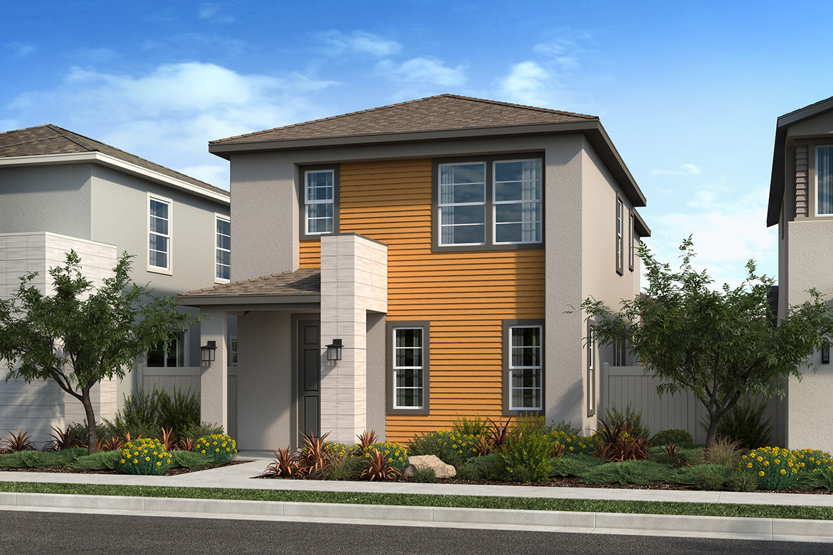 New Homes in Valencia, CA - Clover Plan 1590 Elevation B