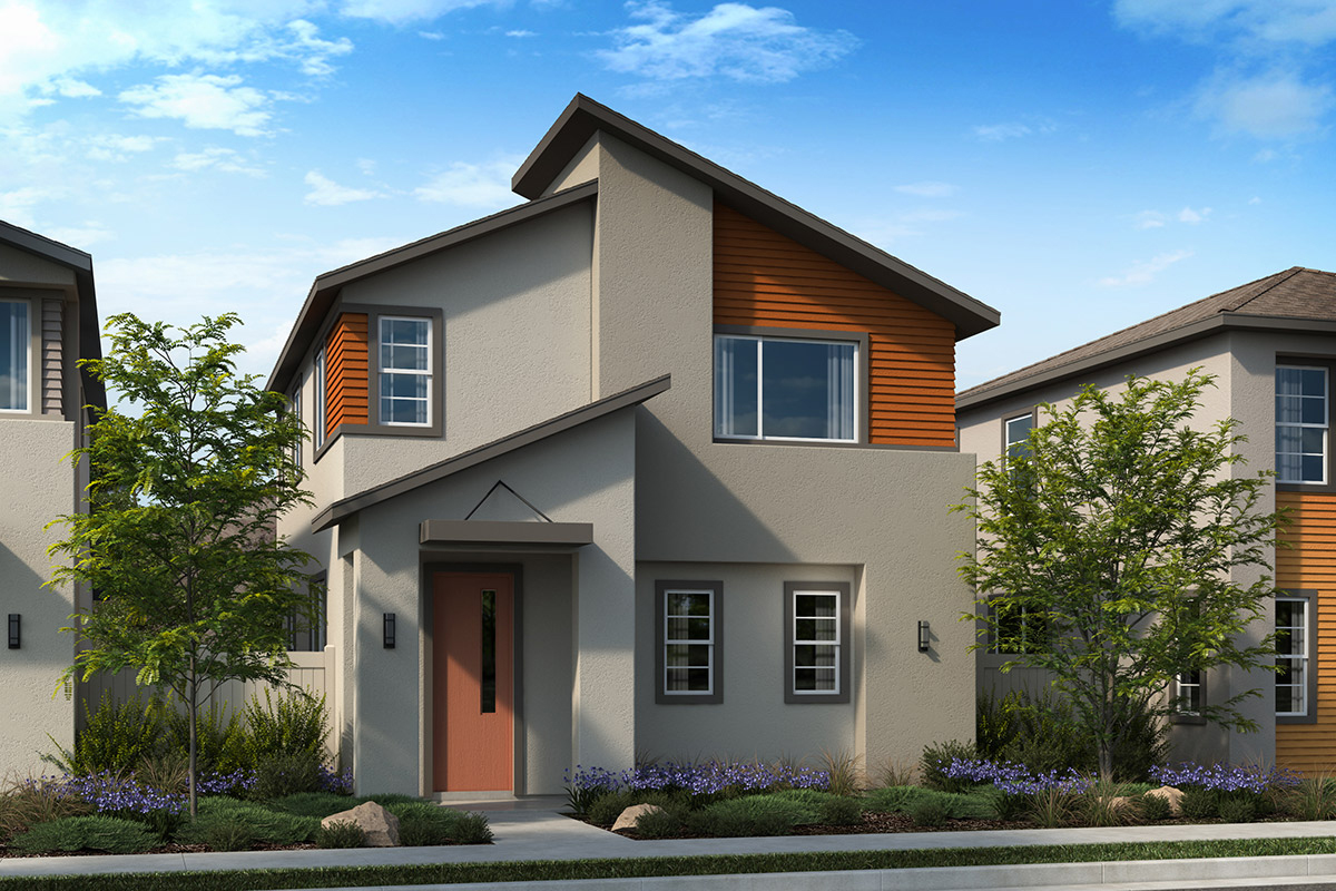 New Homes in Valencia, CA - Clover Plan 1738 Elevation C