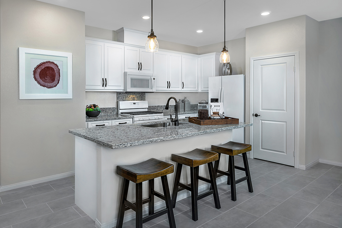 New Homes in Harbor City, CA - Cottages at Harbor Pointe Residence 1376 Kitchen