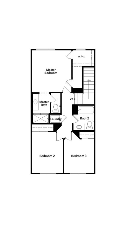 New Homes in Harbor City, CA - Residence 1829, Third Floor