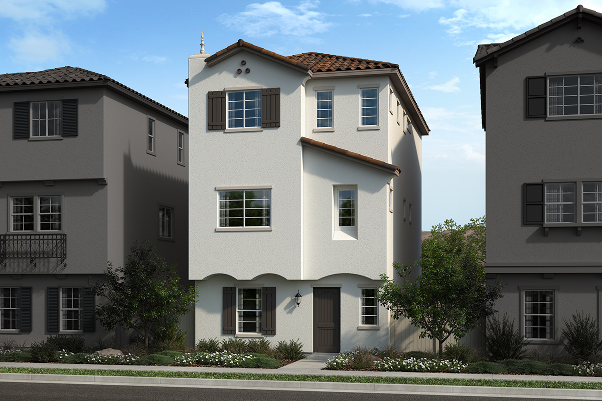 New Homes in San Pedro, CA - Skyview at Ponte Vista Plan 1874 Elevation A