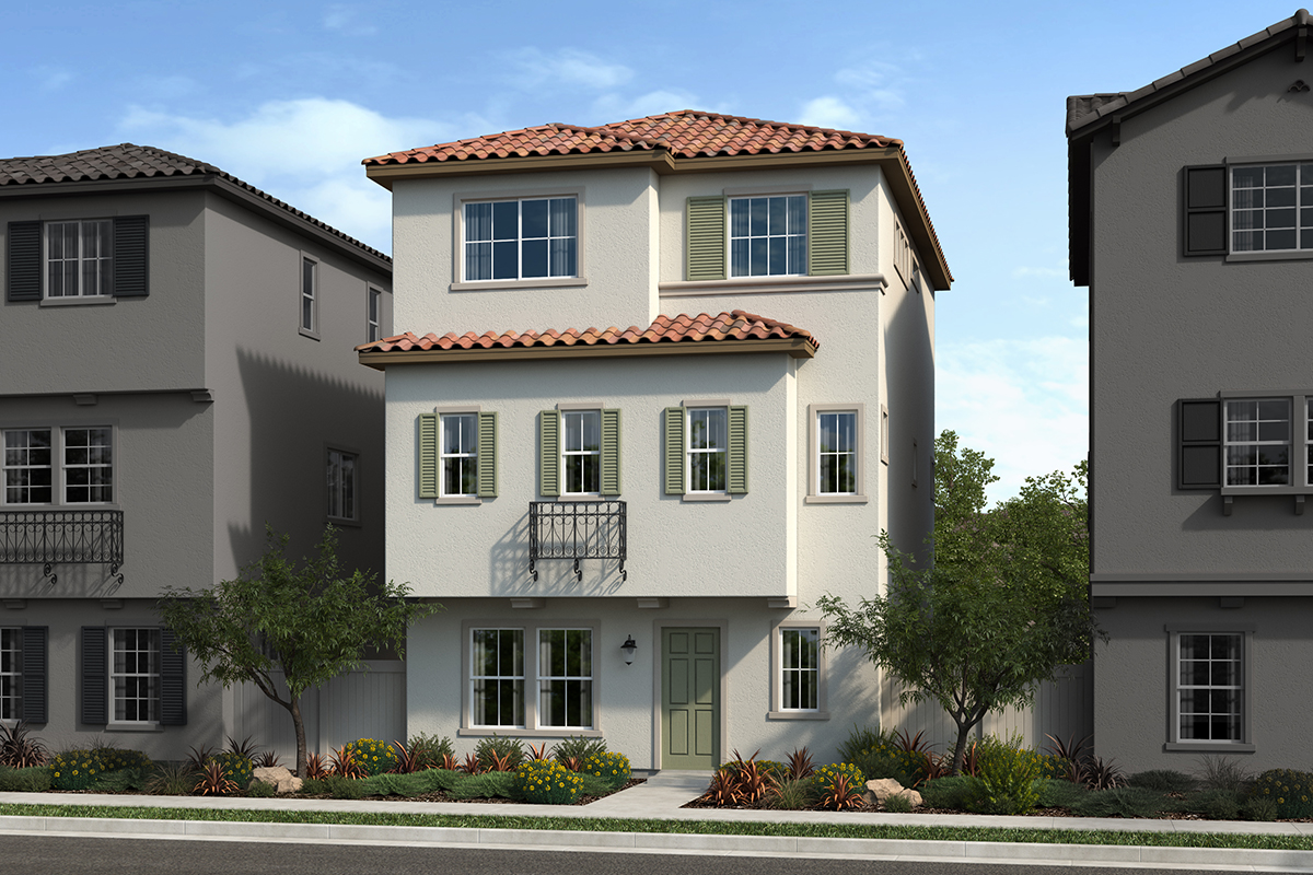 New Homes in San Pedro, CA - Skyview at Ponte Vista Plan 2057 Elevation B