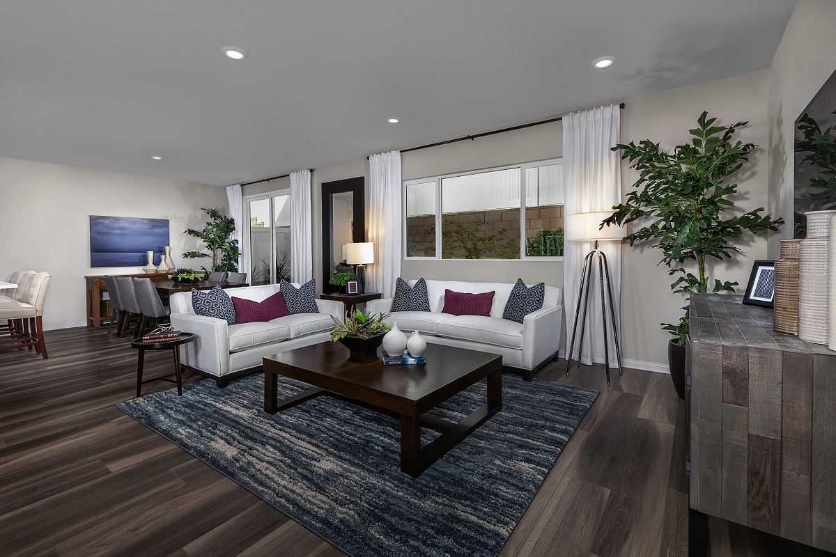 New Homes in Lake View Terrace, CA - Sagecrest Residence 3 - Great Room