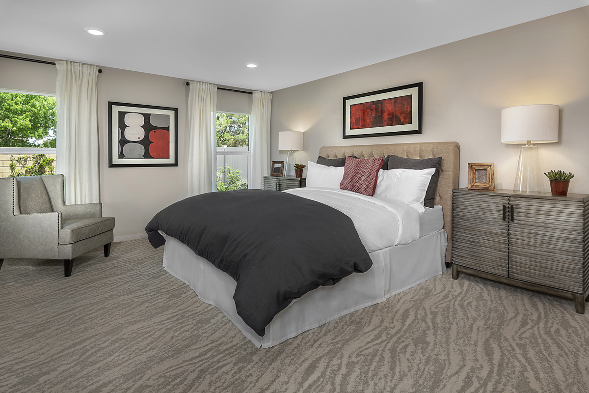 New Homes in Lancaster, CA - Sapphire Dunes Residence 1912 - Master Bedroom