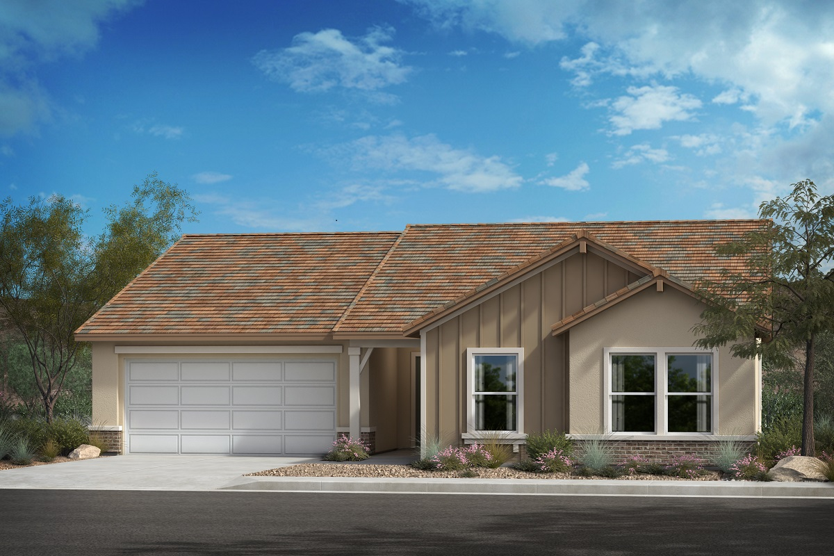 "New Homes in Lancaster, CA - ""D"" Contemporary Farmhouse"