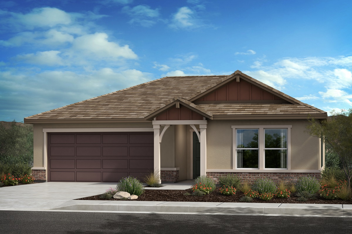 New Homes in Lancaster, CA - Elevation D