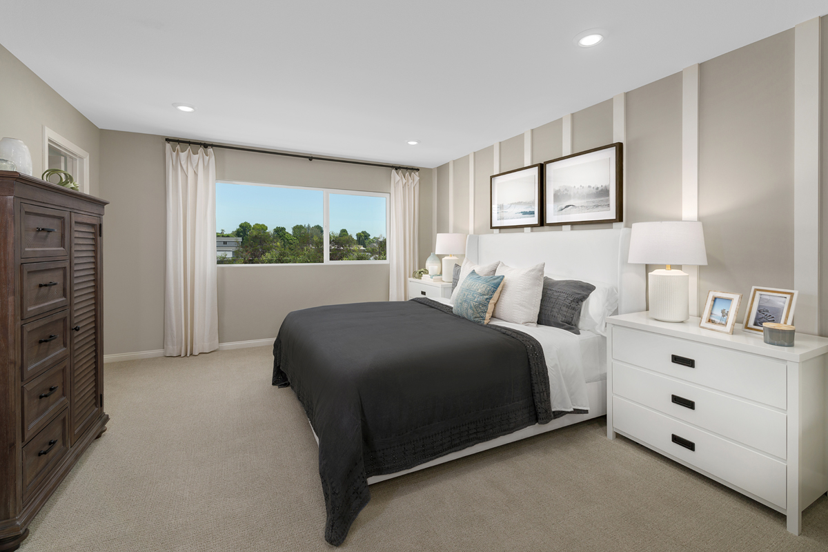 New Homes in Gardena, CA - Stonefield Plan 1914 Master Bedroom