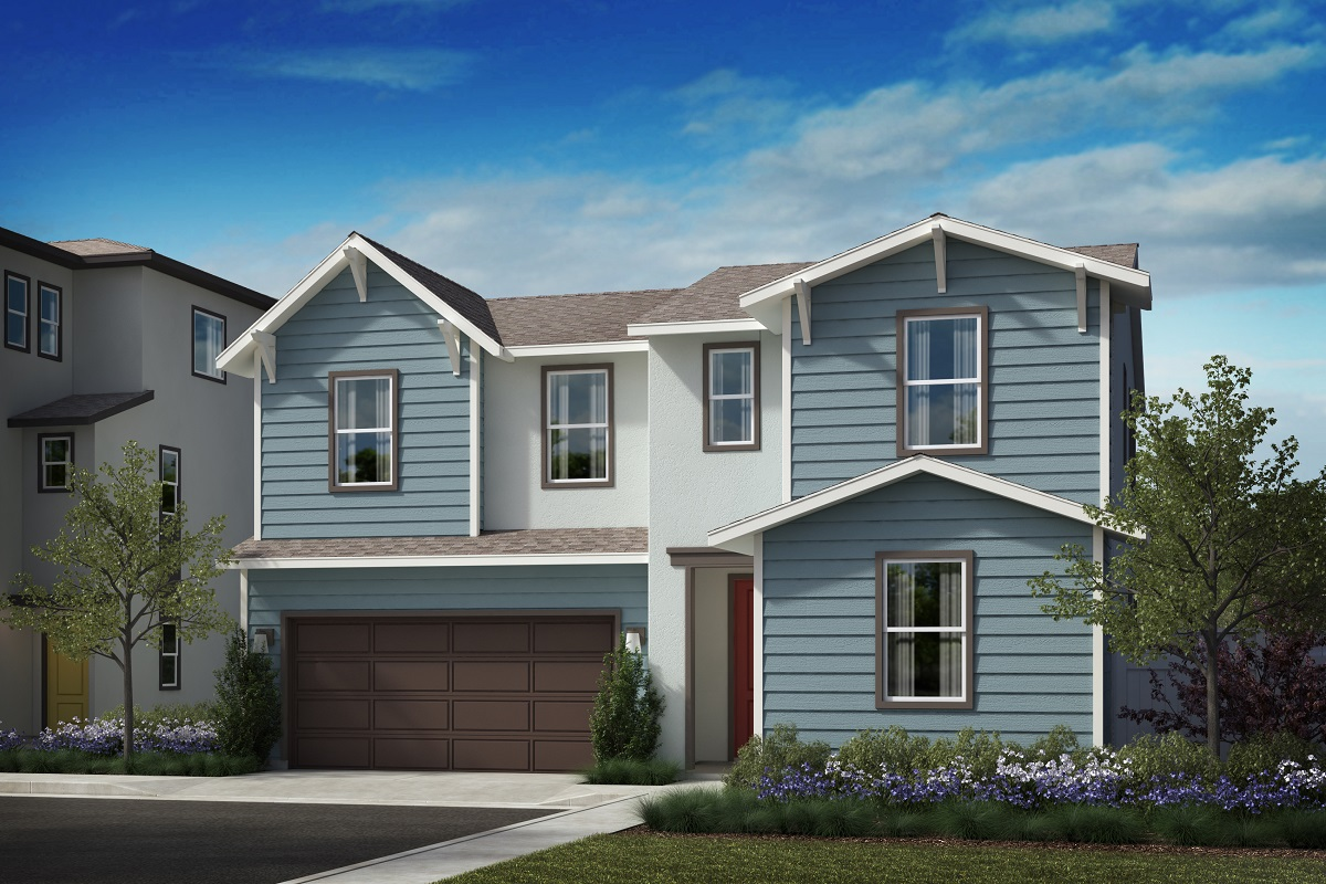 New Homes in Harbor City, CA - Elevation A