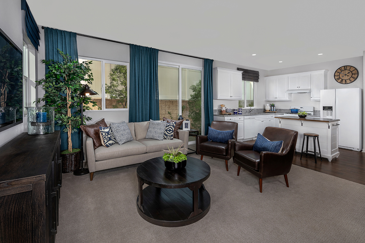 New Homes in Los Angeles, CA - Vista Pointe Residence 1 - Great Room