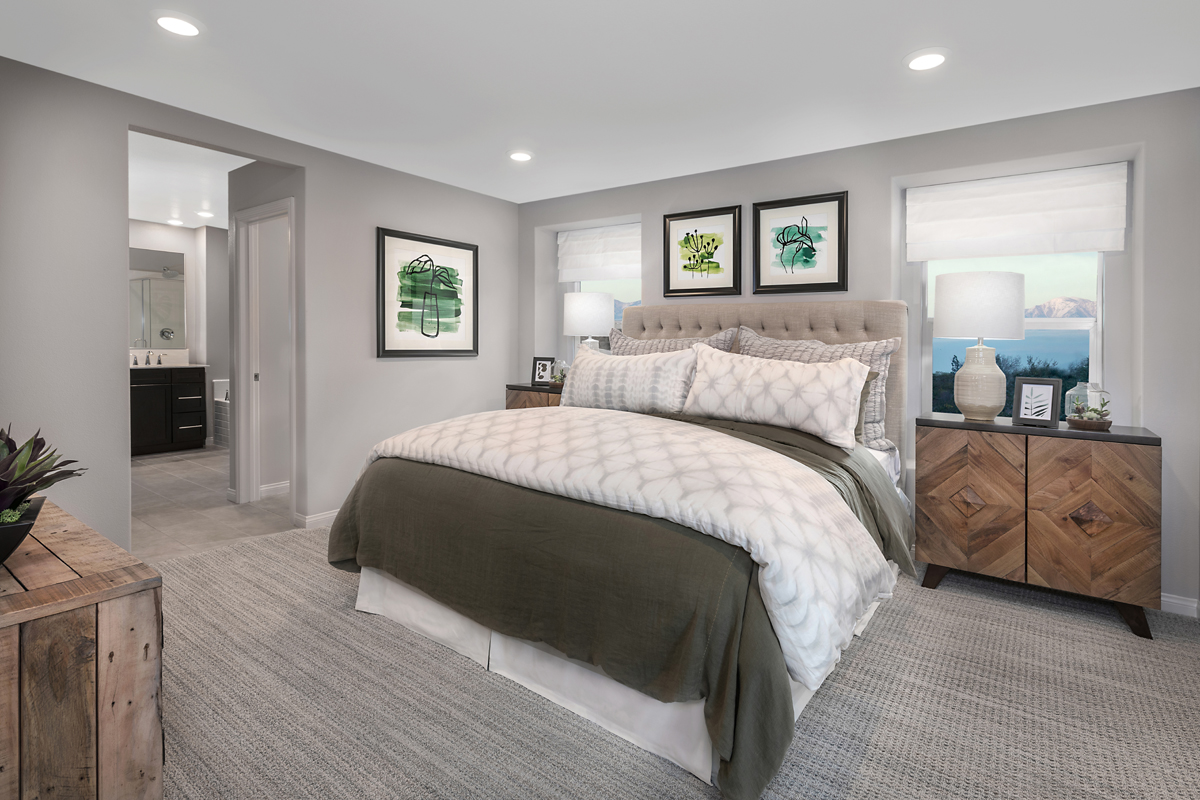 New Homes in Los Angeles, CA - Vista Pointe Residence 2 - Master Bedroom