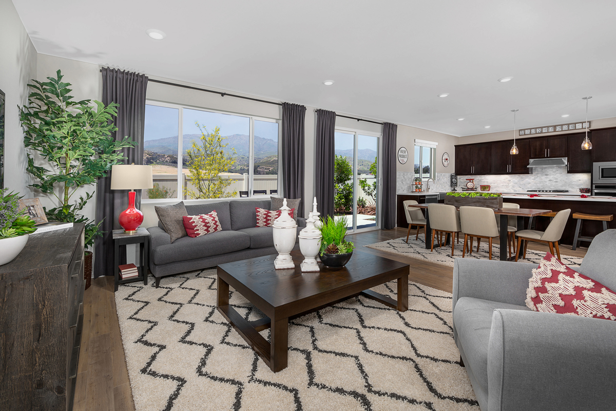 New Homes in Santa Paula, CA - Wildflower at Harvest at Limoneira Residence 2377 Great Room