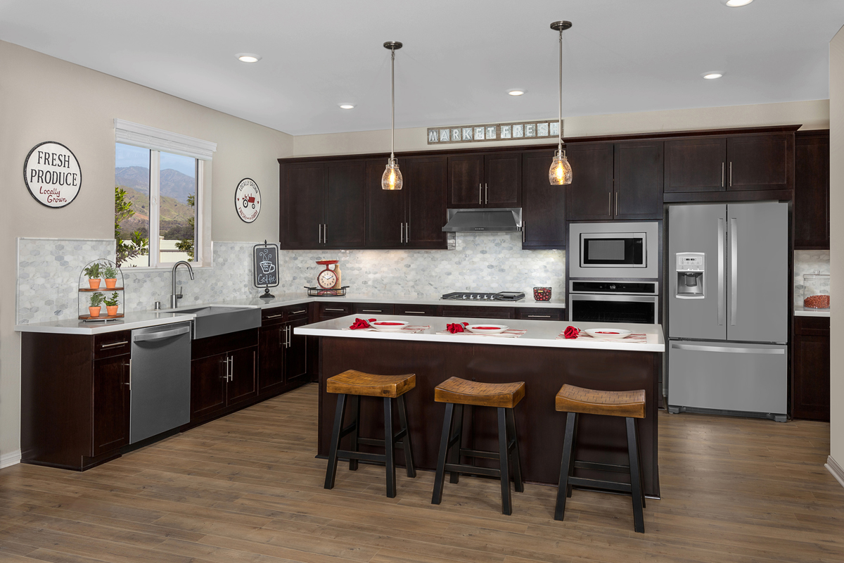 New Homes in Santa Paula, CA - Wildflower at Harvest at Limoneira Residence 2377 Kitchen